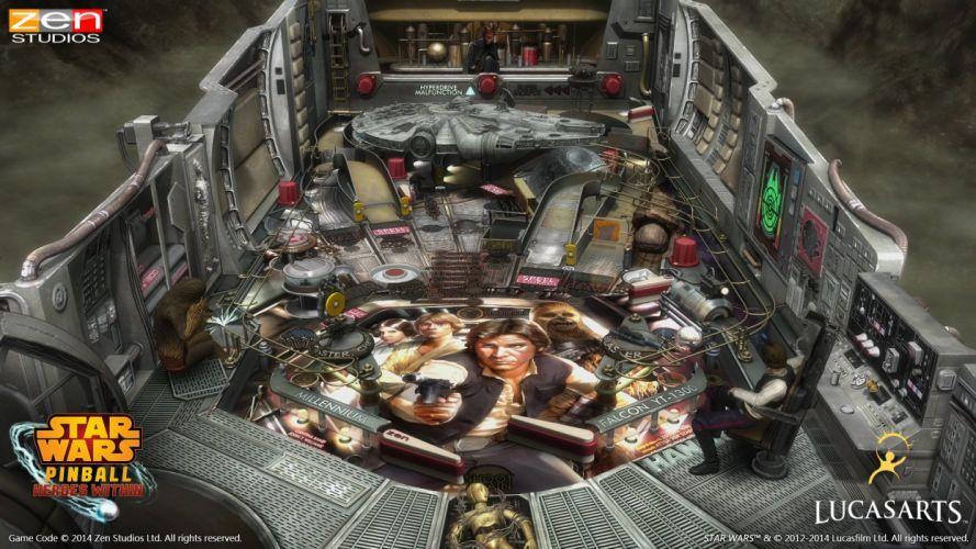 STAR WARS PINBALL Heroes Within sci-fi (11) wallpaper