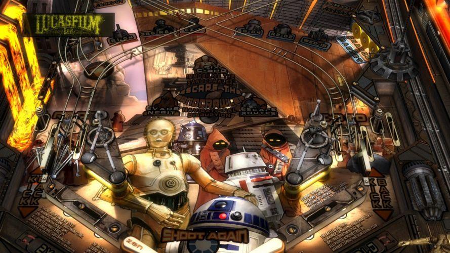 STAR WARS PINBALL Heroes Within sci-fi (14) wallpaper