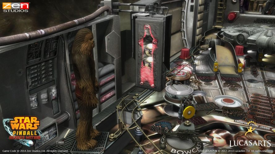 STAR WARS PINBALL Heroes Within sci-fi (17) wallpaper