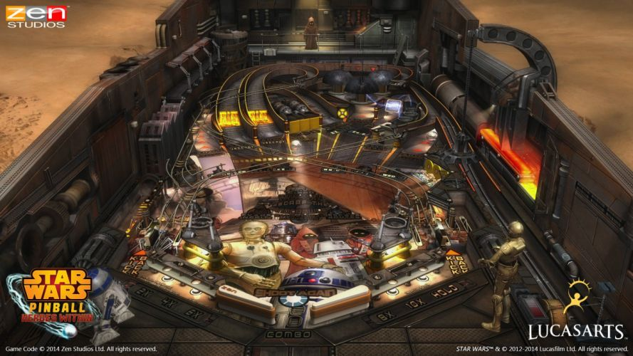 STAR WARS PINBALL Heroes Within sci-fi (29) wallpaper