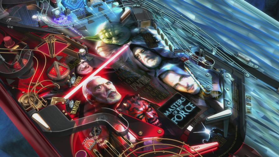 STAR WARS PINBALL Heroes Within sci-fi (28) wallpaper