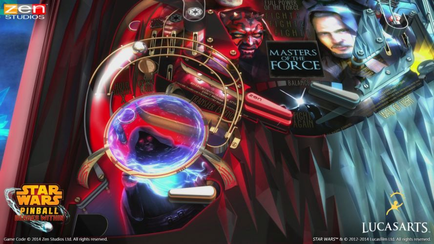 STAR WARS PINBALL Heroes Within sci-fi (31) wallpaper