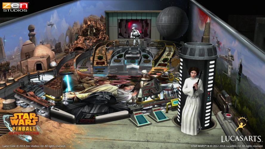 STAR WARS PINBALL Heroes Within sci-fi (36) wallpaper