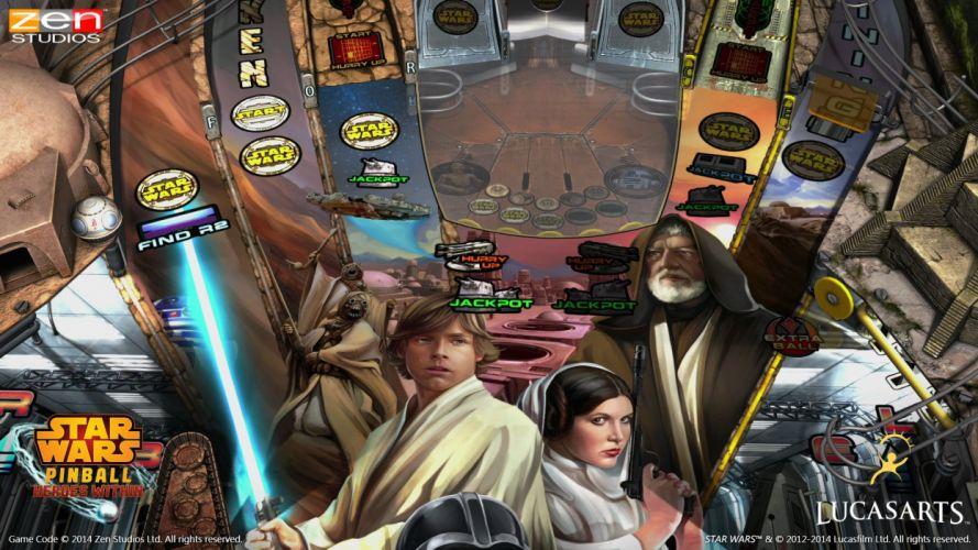 STAR WARS PINBALL Heroes Within sci-fi (35) wallpaper