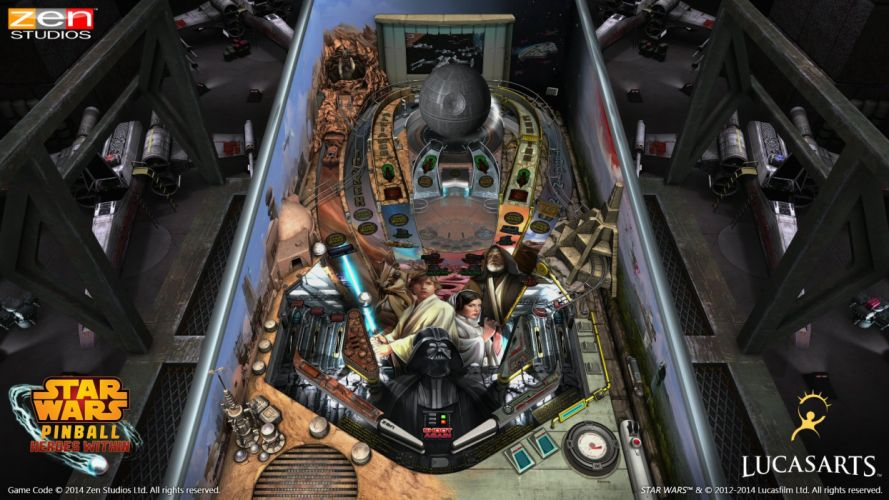STAR WARS PINBALL Heroes Within sci-fi (34) wallpaper
