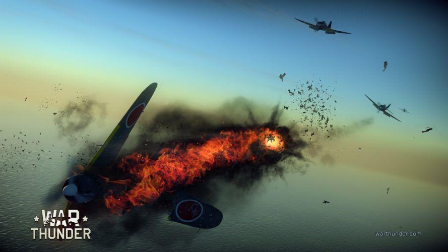 WAR THUNDER battle mmo combat flight simulator military (4) wallpaper