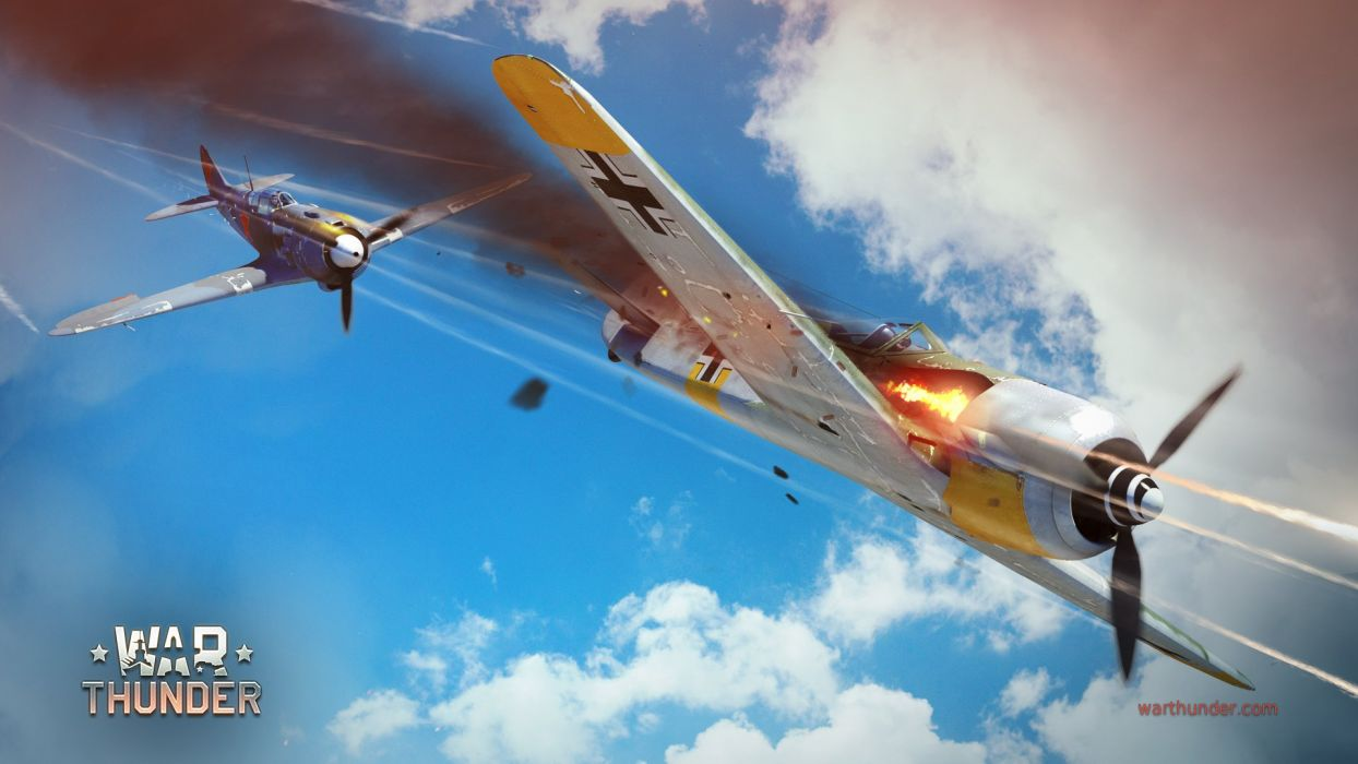 WAR THUNDER battle mmo combat flight simulator military (7) wallpaper