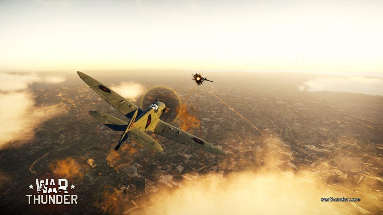 WAR THUNDER battle mmo combat flight simulator military (9) wallpaper