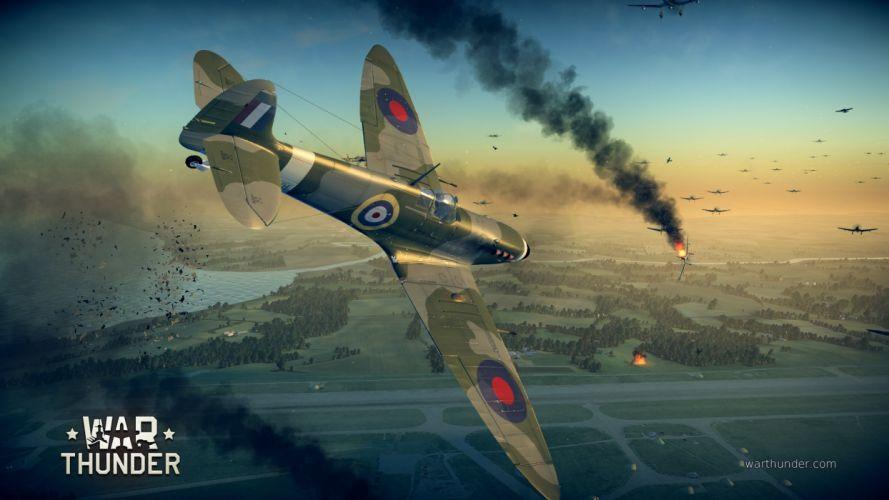 WAR THUNDER battle mmo combat flight simulator military (15) wallpaper