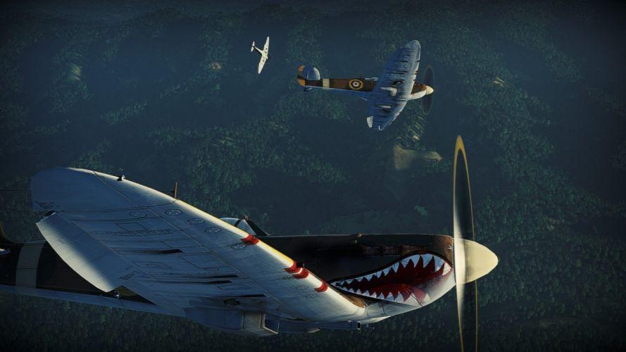 WAR THUNDER battle mmo combat flight simulator military (32) wallpaper