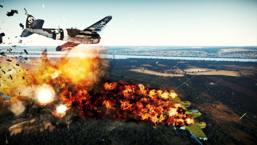 WAR THUNDER battle mmo combat flight simulator military (36) wallpaper