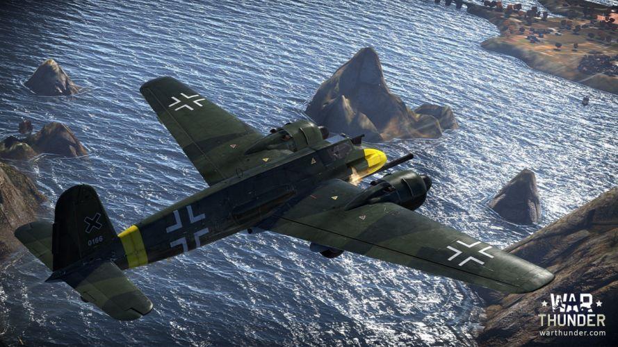 WAR THUNDER battle mmo combat flight simulator military (60) wallpaper