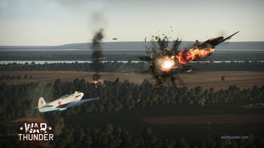 WAR THUNDER battle mmo combat flight simulator military (6) wallpaper