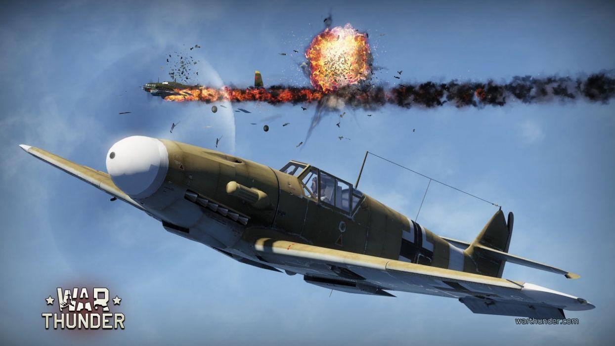 WAR THUNDER battle mmo combat flight simulator military (3) wallpaper