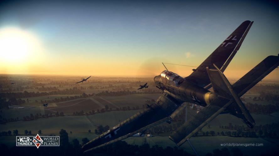 WAR THUNDER battle mmo combat flight simulator military (42) wallpaper