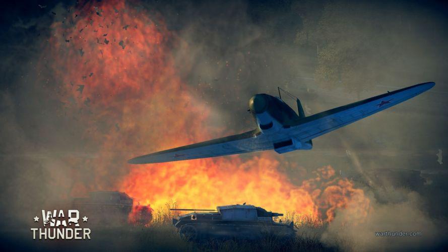 WAR THUNDER battle mmo combat flight simulator military (48) wallpaper