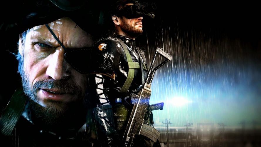 METAL GEAR SOLID Phantom Pain shooter action adventure stealth (3) wallpaper