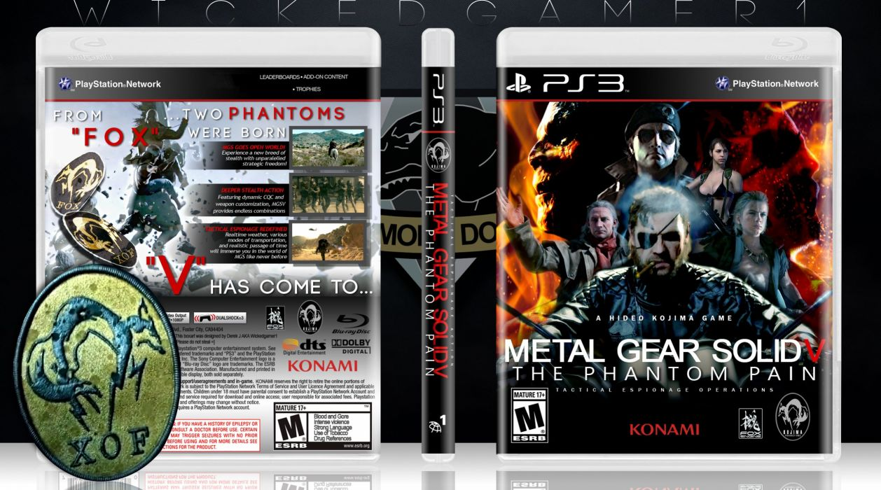 METAL GEAR SOLID Phantom Pain shooter action adventure stealth (1) wallpaper