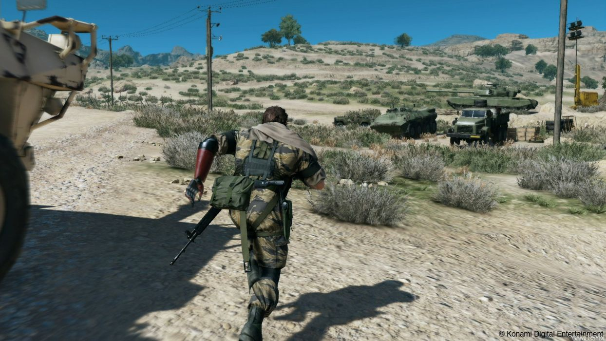 METAL GEAR SOLID Phantom Pain shooter action adventure stealth (10) wallpaper