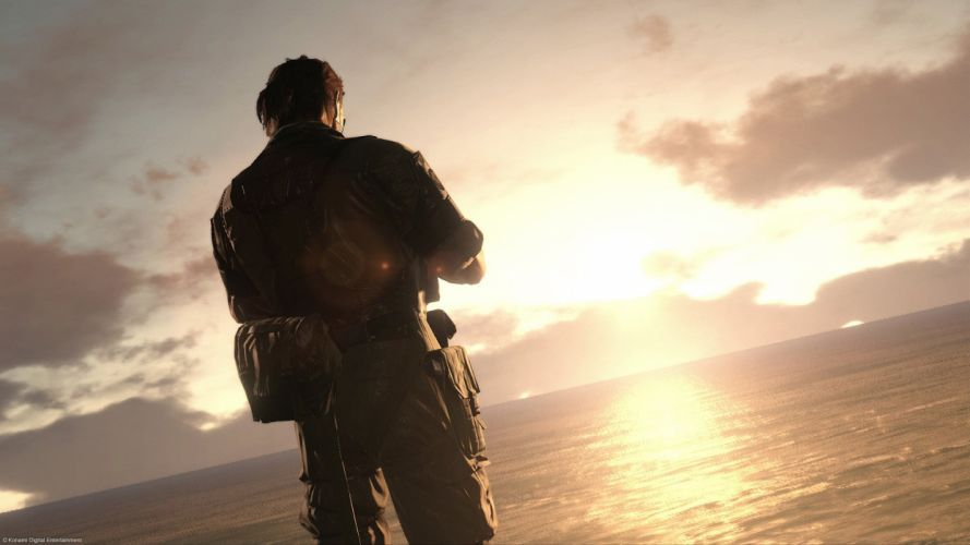 METAL GEAR SOLID Phantom Pain shooter action adventure stealth (19) wallpaper