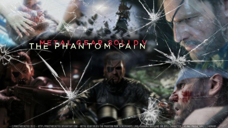 METAL GEAR SOLID Phantom Pain shooter action adventure stealth (18) wallpaper