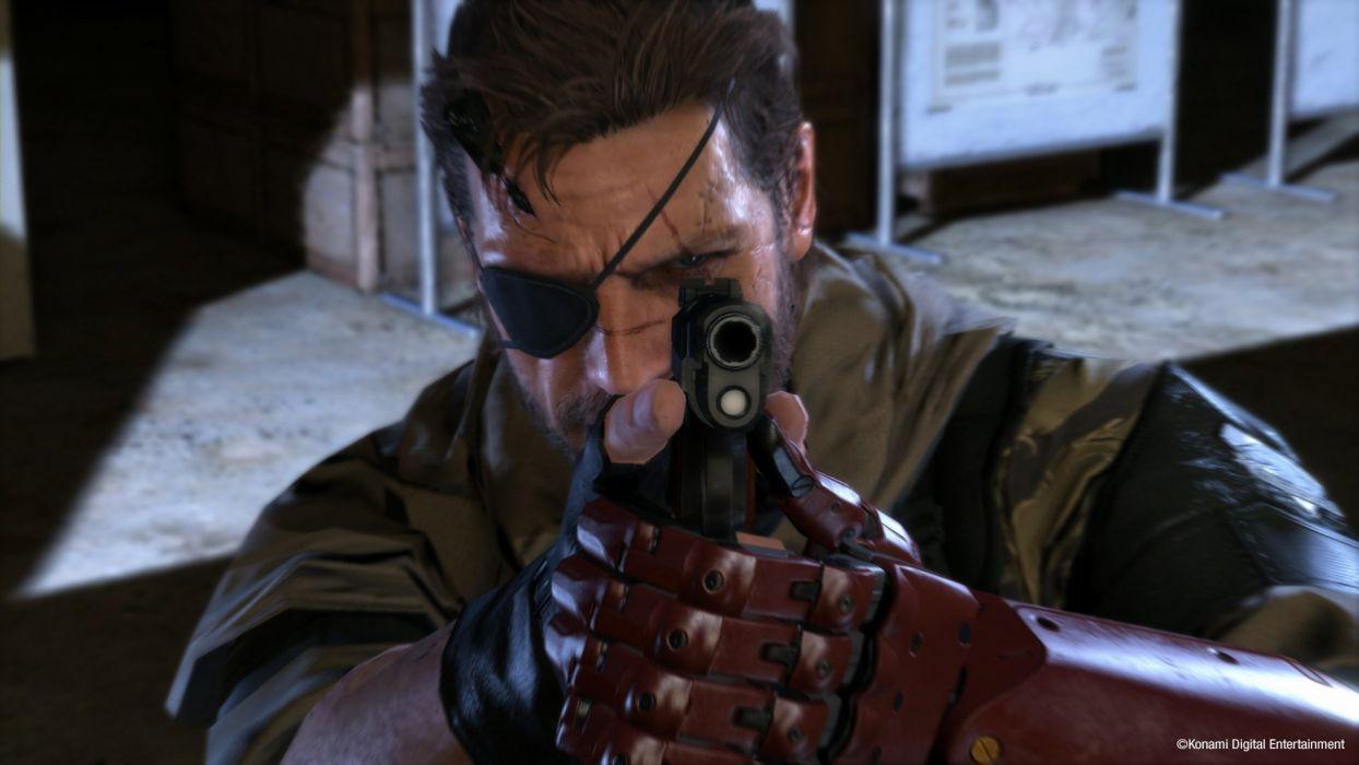 METAL GEAR SOLID Phantom Pain shooter action adventure stealth (21) wallpaper