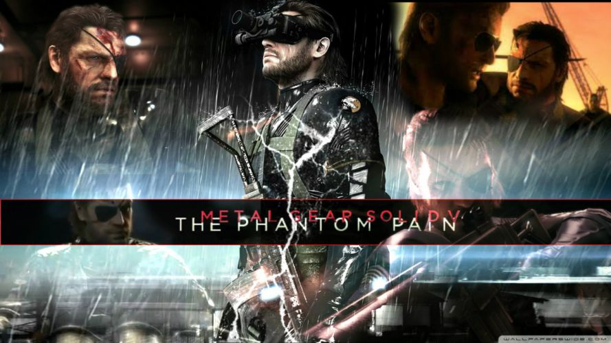METAL GEAR SOLID Phantom Pain shooter action adventure stealth (32) wallpaper