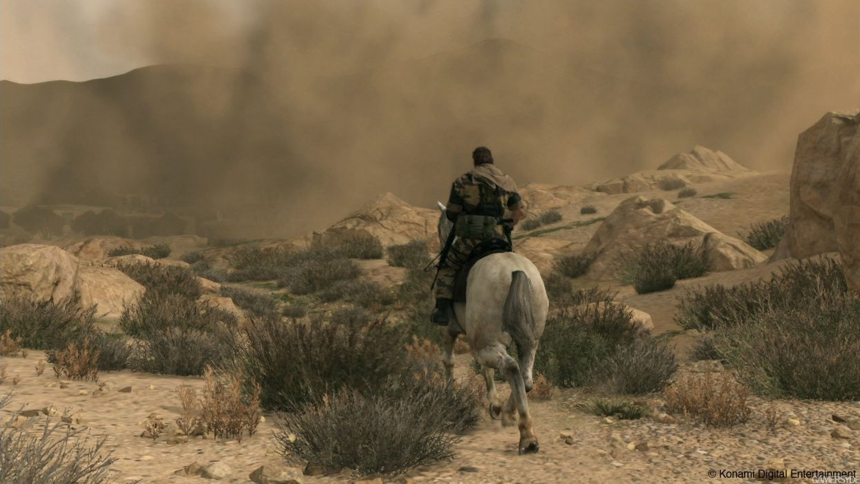 METAL GEAR SOLID Phantom Pain shooter action adventure stealth (40) wallpaper