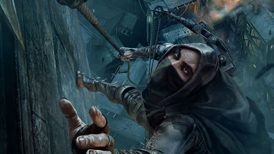 THIEF adventure stealth fantasy warrior (38) wallpaper