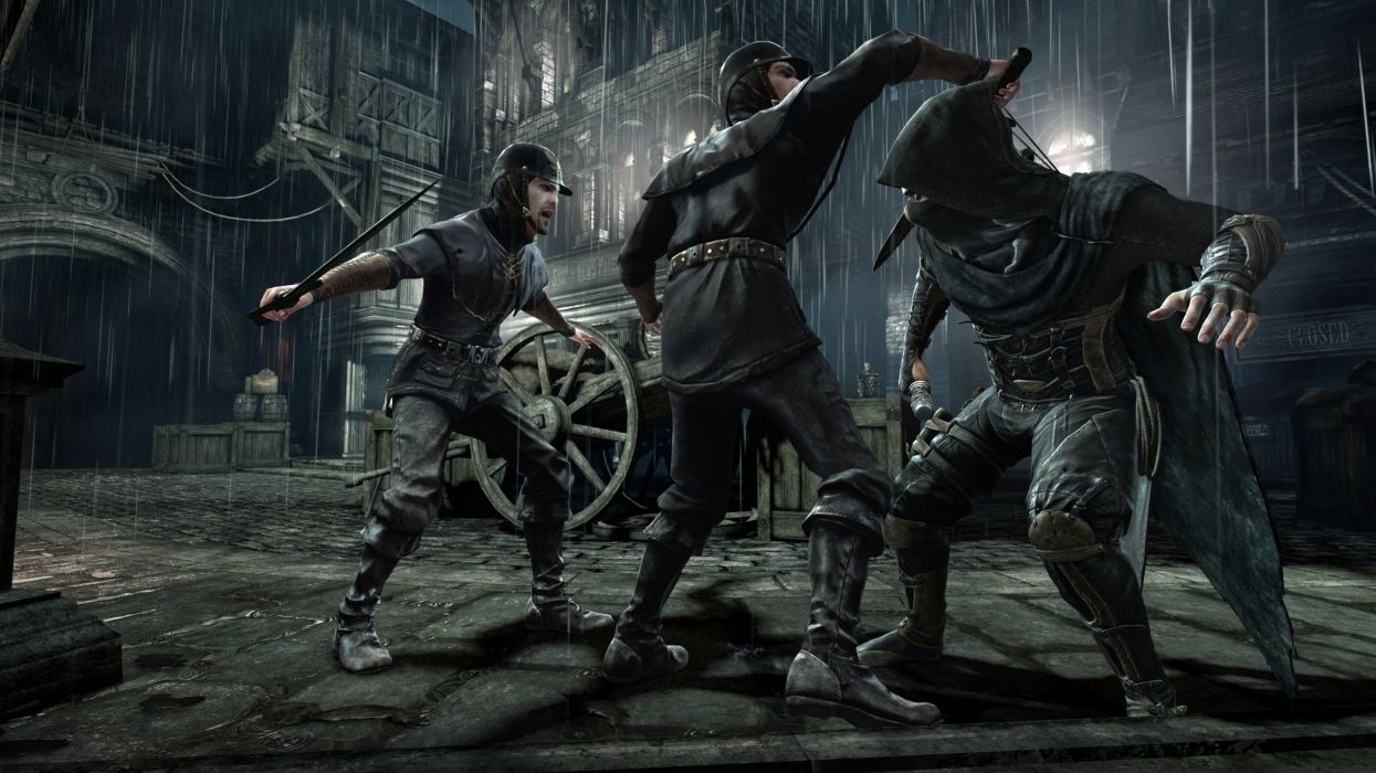 THIEF adventure stealth fantasy warrior (86) wallpaper