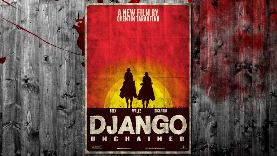 DJANGO UNCHAINED western cowboy (3) wallpaper