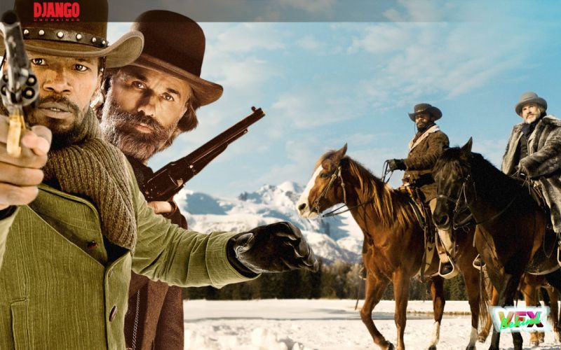 DJANGO UNCHAINED western cowboy (63) wallpaper