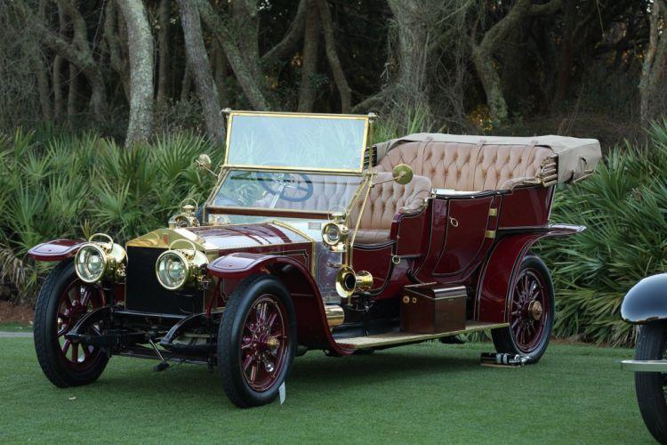 1911 Rolls-Royce Silver Ghost 18BB Car Vehicle Classic Retro 1536x1024 (2) wallpaper
