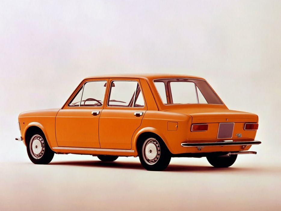 Fiat 128 1972 Car Vehicle Classic Retro Italy 4000x3000 (2) wallpaper