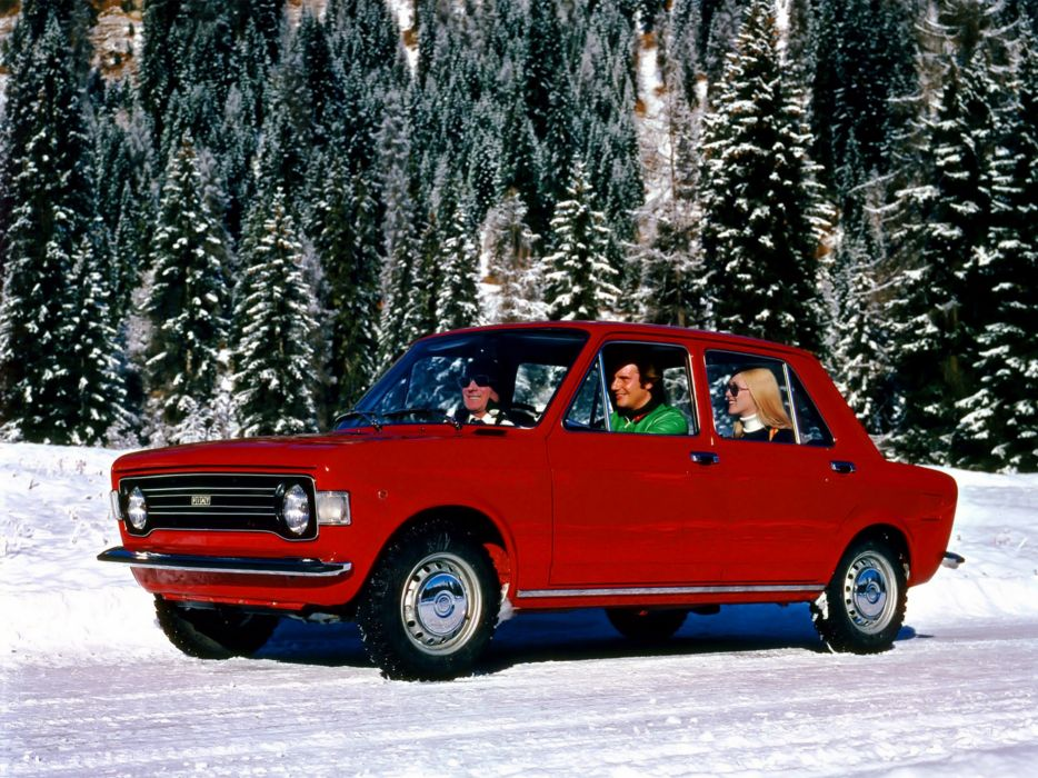 Fiat 128 1972 Car Vehicle Classic Retro Italy 4000x3000 (1) wallpaper