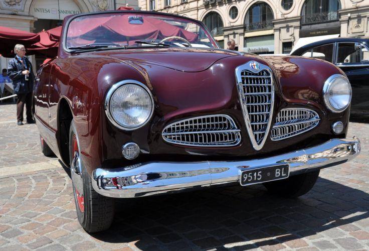 Alfa-Romeo 1900-L 1952 Car Vehicle Classic Retro Italy 4000x2716 wallpaper