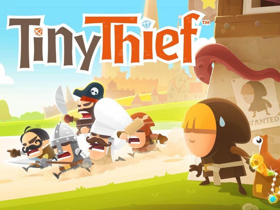 TINY THIEF app phone adventure fantasy family (16) wallpaper