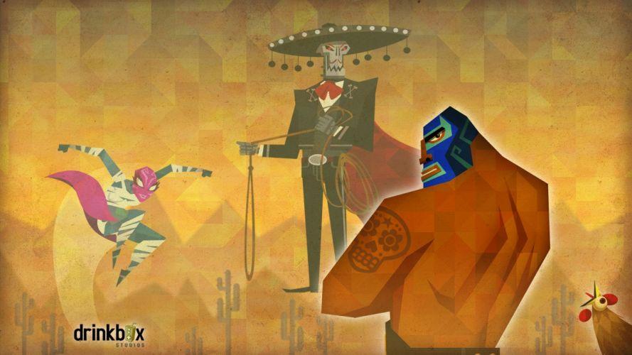 GUACAMELEE Super Turbo Championship Edition action family fantasy (6) wallpaper
