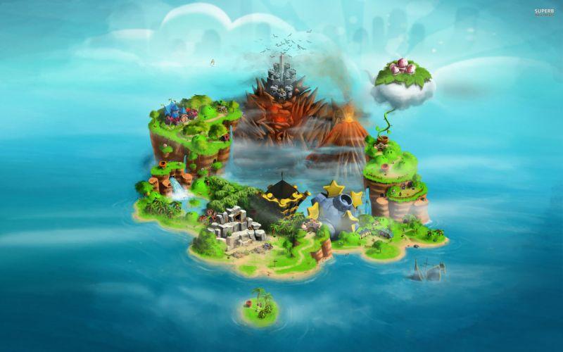 SUPER MARIO 3-D WORLD platform family nintendo (18) wallpaper