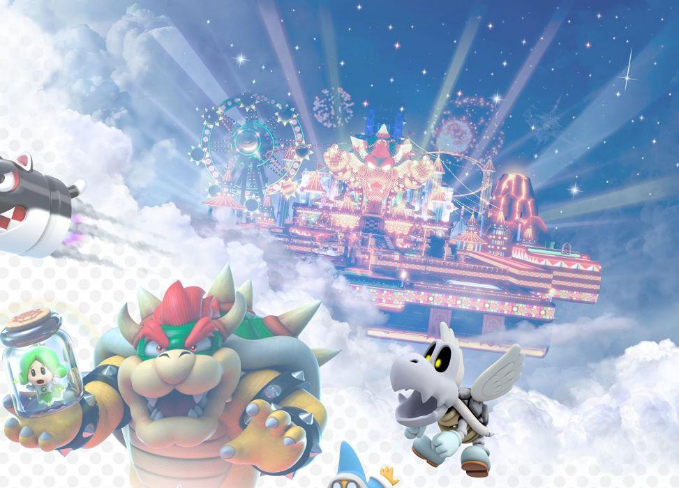 SUPER MARIO 3-D WORLD platform family nintendo (22) wallpaper