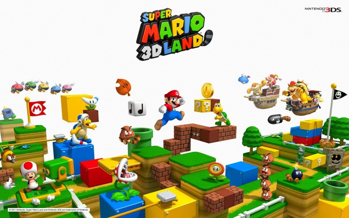 SUPER MARIO 3-D LAND platform family nintendo (6) wallpaper