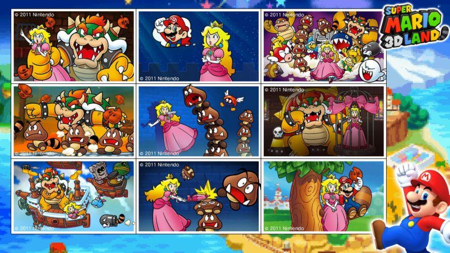 SUPER MARIO 3-D LAND platform family nintendo (15) wallpaper