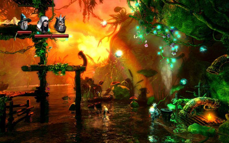 TRINE 2 scrolling fantasy platform action rpg (1) wallpaper