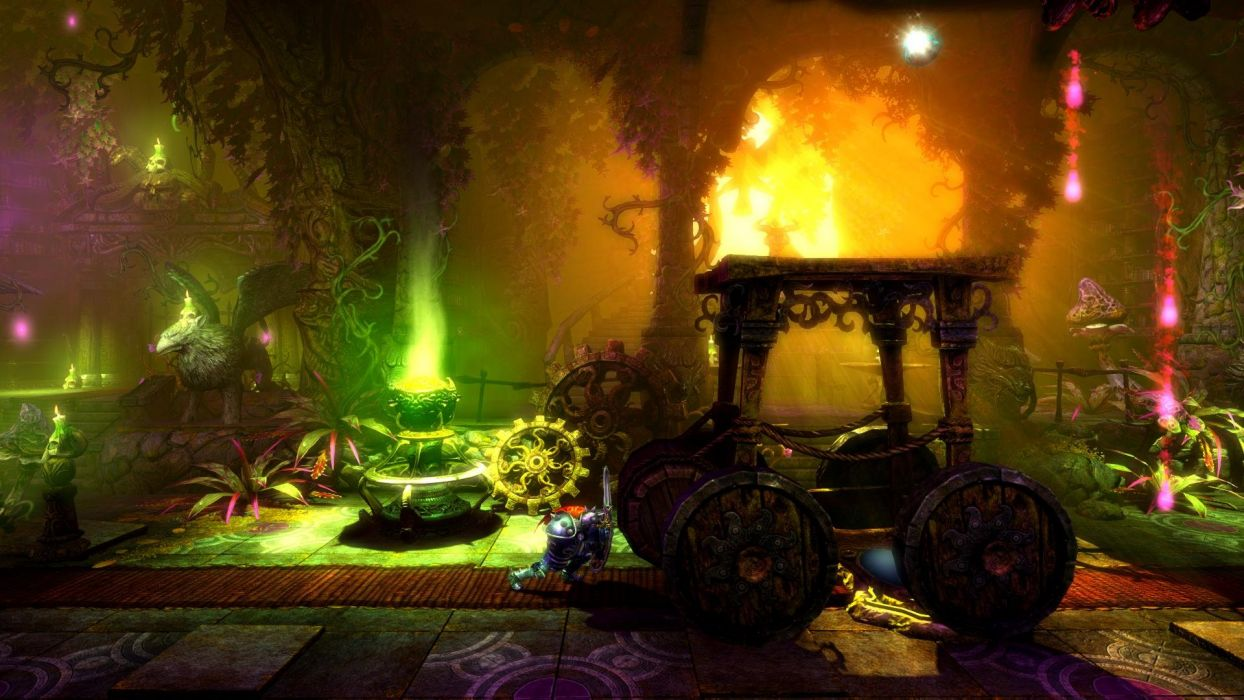 TRINE 2 scrolling fantasy platform action rpg (11) wallpaper