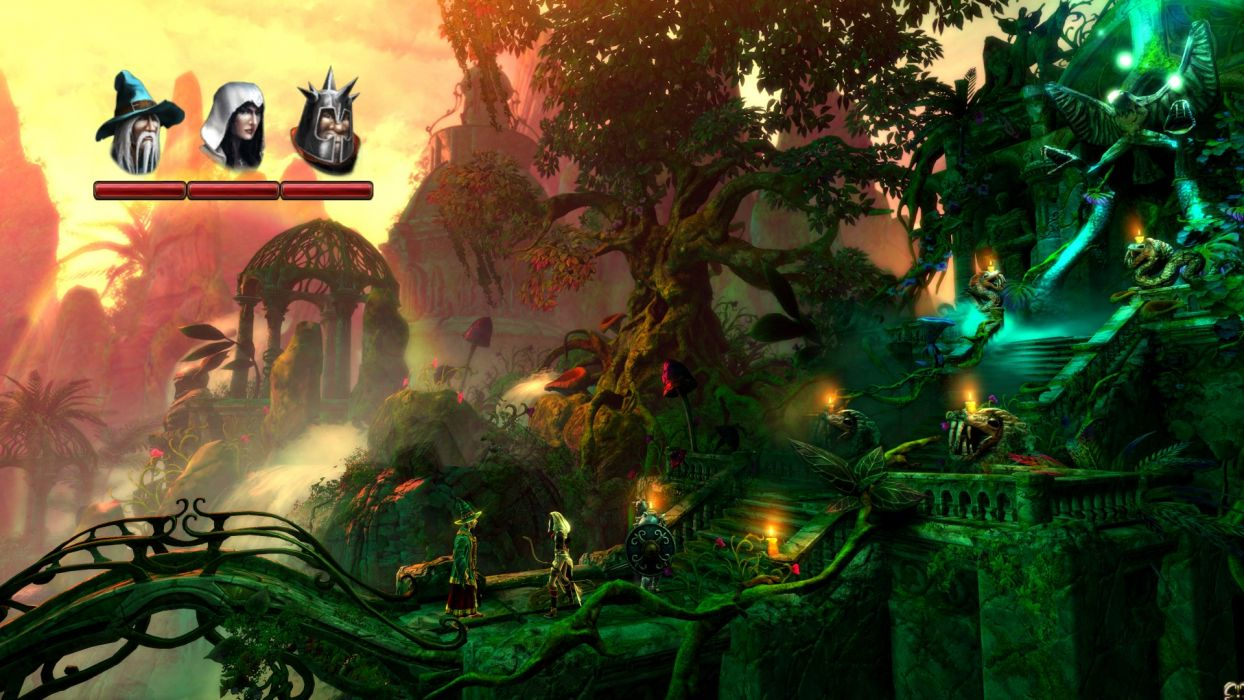 TRINE 2 scrolling fantasy platform action rpg (18) wallpaper