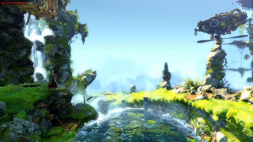 TRINE 2 scrolling fantasy platform action rpg (8) wallpaper