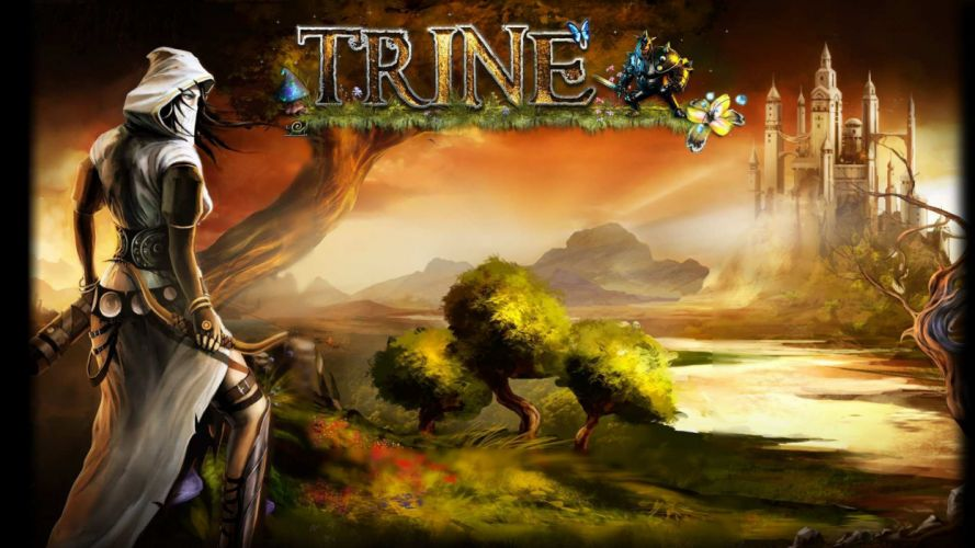 TRINE 2 scrolling fantasy platform action rpg (6) wallpaper