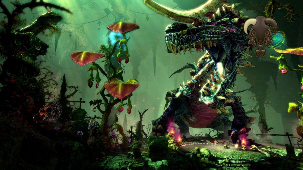 TRINE 2 scrolling fantasy platform action rpg (14) wallpaper