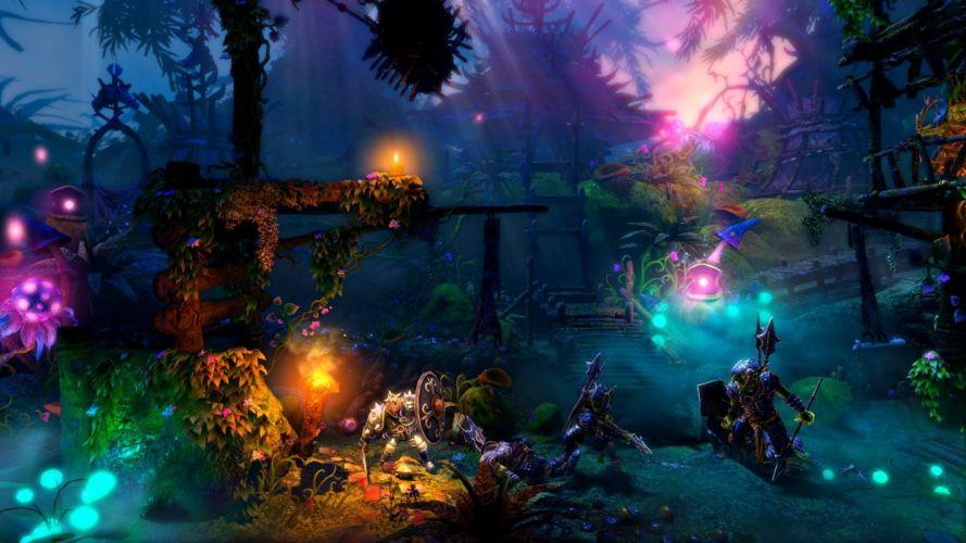 TRINE 2 scrolling fantasy platform action rpg (22) wallpaper