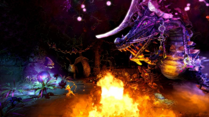 TRINE 2 scrolling fantasy platform action rpg (23) wallpaper